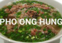 """写真10枚で観る、絶対にオススメ‼ホーチミンで晩御飯を食べるならオジサンマークの""""PHO ONG HUNG""""は間違いない‼"""