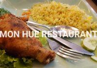 """【写真で観る】ホーチミンで御飯を食べるなら安心のフエ料理のチェーン店""""MON HUE RESTAURANT""""がオススメ‼"""