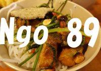 """【写真で観る】ホーチミン市内でベトナム料理を食べるなら絶対にココっ!""""Ngo 89""""への行き方"""