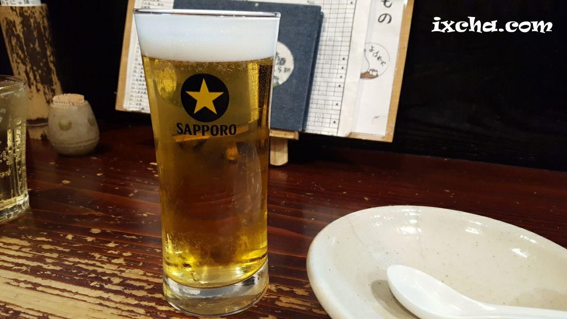 一杯目はビール